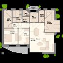 Bungalow 121 - Erdgeschoss