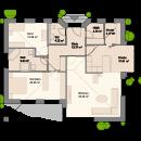 Bungalow 121 - Erdgeschoss (alternative)