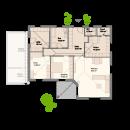 Bungalow 132 - Erdgeschoss