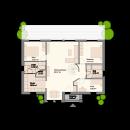 Bungalow 134 - Erdgeschoss