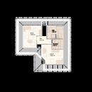 Bungalow 154 - Obergeschoss