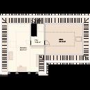 Bungalow 182 - Obergeschoss
