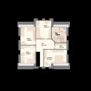 Landhaus 197 - Obergeschoss