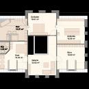 Landhaus 259 - Obergeschoss