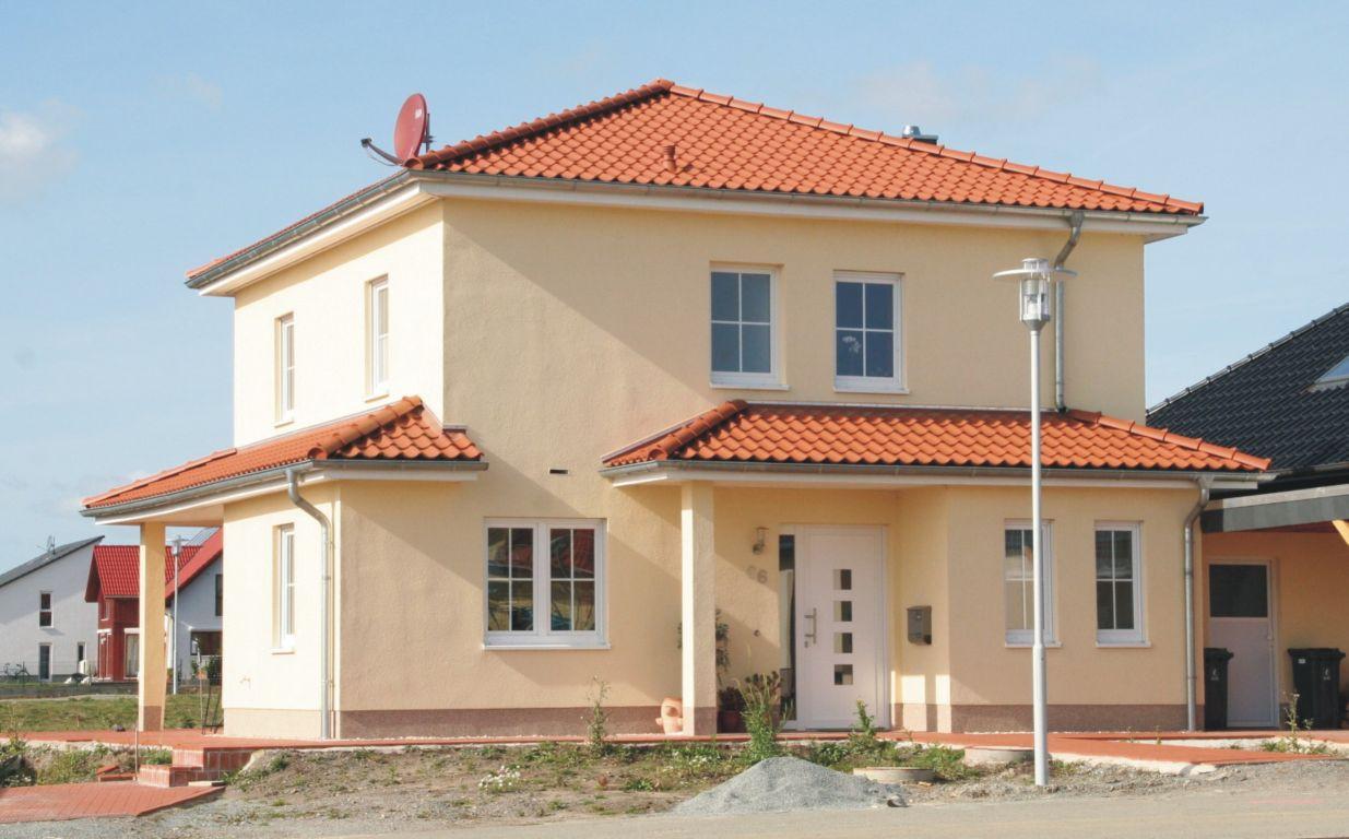Stadtvilla mediterran mit garage  Mediterran 127 | Hans Drewes Baugeschäft