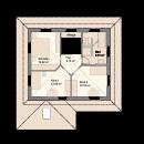 Mediterran 137 - Obergeschoss