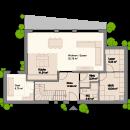 Pultdach 172 - Erdgeschoss