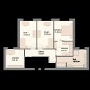 Pultdach 172 - Obergeschoss