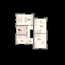 Pultdach 182 - Obergeschoss