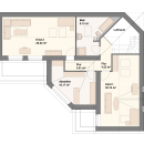 Pultdach 215 - Obergeschoss