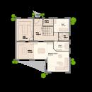 Pultdach 216 - Erdgeschoss
