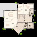 Pultdach 400 - Erdgeschoss