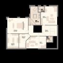 Pultdach 400 - Obergeschoss