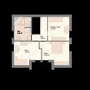 Satteldach 124 - Obergeschoss