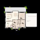 Satteldach 150 - Erdgeschoss