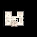 Satteldach 150 - Obergeschoss