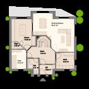 Satteldach 184 - Erdgeschoss