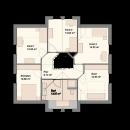 Satteldach 184 - Obergeschoss