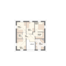 Stadtvilla 157 - Obergeschoss