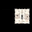 Stadtvilla 206 - Obergeschoss