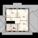 Stadtvilla 224 - Obergeschoss