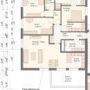 Grundriss Wohnung V