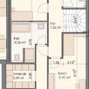 Grundriss Wohnung VII-Obergeschoss