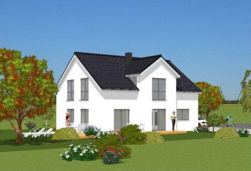 Anicht-Süd Einfamilienhaus